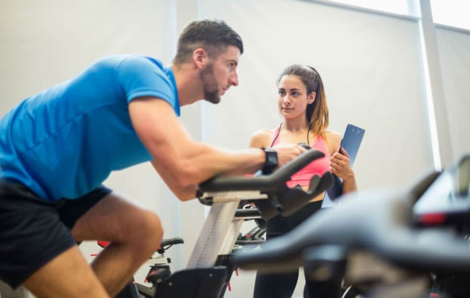 Exercise Bike And Calories, Consumption And Physical Activity